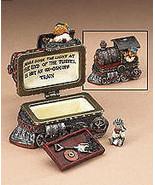 """Boyds Treasure Box """"Casey's Steam Engine w/ Toot McNibble"""" #392169-1E-NI... - $24.99"""