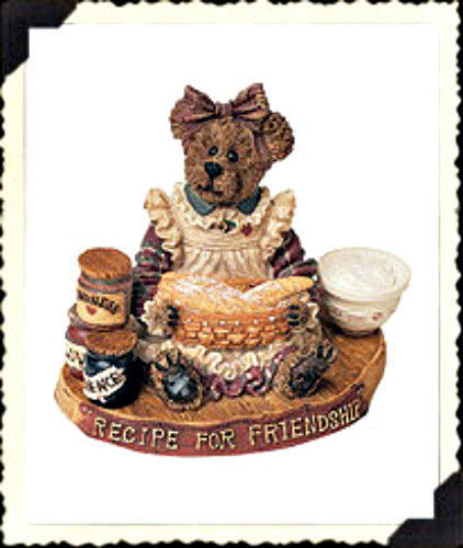 "Boyds Bearstone""Patricia L Cooksbeary"" Longaberger Exclusive #228340LB-NIB-Retir image 1"