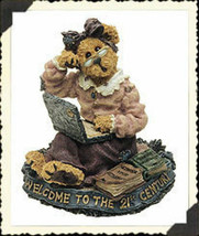 "Boyds Bearstone ""Meg O' Bytes..Lap Dancin"" #227759- 1E -NIB -2001- Retired image 1"
