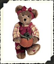 "Boyds Bears ""Penelope P. Punkinbeary"" -14"" Bear   #904011- NWT-2002-Retired image 1"