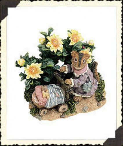 "Boyds Critter & Co""Mrs. Chips with Meg & Nutley..SundayStroll""#36607-1E-2002-NIB image 1"