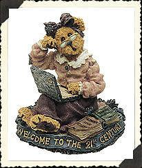 "Boyds Bearstone ""Meg O' Bytes..Lap Dancin"" #227759- 1E -NIB -2001- Retired image 2"