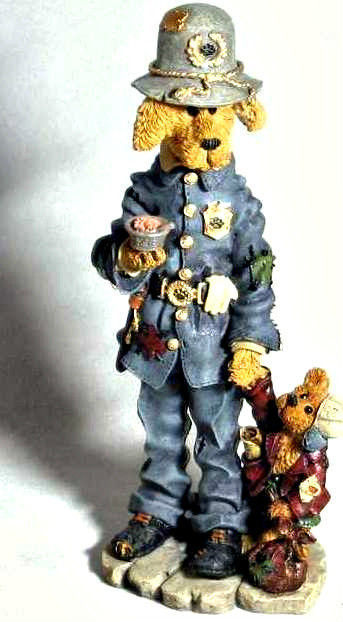 "Boyds Folktone ""Sgt. Rex & Matt.. The Runaway"" #2874- 1E-1997- NIB- Retired"