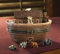 "Boyds Treasure Box ""Noah's Great Journey..Two by Two"" #4017973*1E*NIB*Retired - $69.99"
