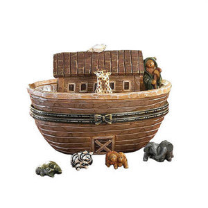 """Boyds Treasure Box """"Noah's Great Journey..Two by Two"""" #4017973*1E*NIB*Retired image 2"""