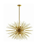 "STARBURST 12 Light Chandelier, Brass, ""Sputnik""... - $2,879.00"