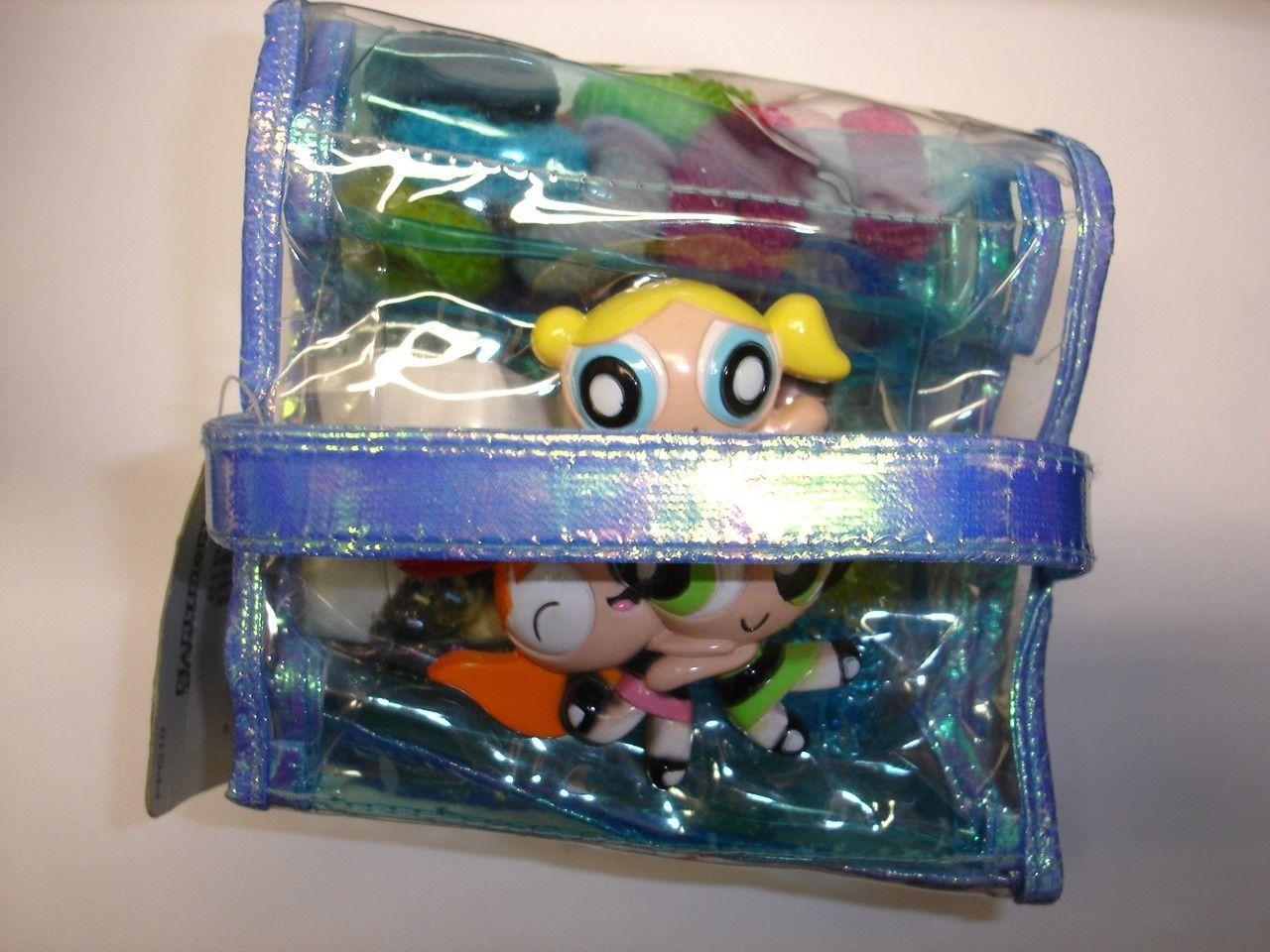 New Cartoon Network Powerpuff Girls mirror & hair accessories set
