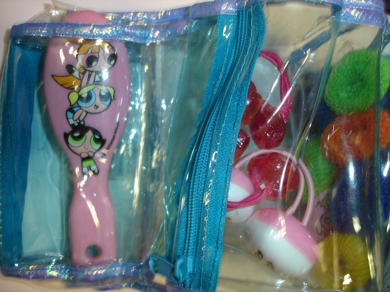 New Cartoon Network Powerpuff Girls mirror & hair accessories set image 3
