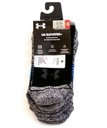 Under Armour Gray UA Elevated+ Performance Crew Socks 3 in Package Men's... - $29.69