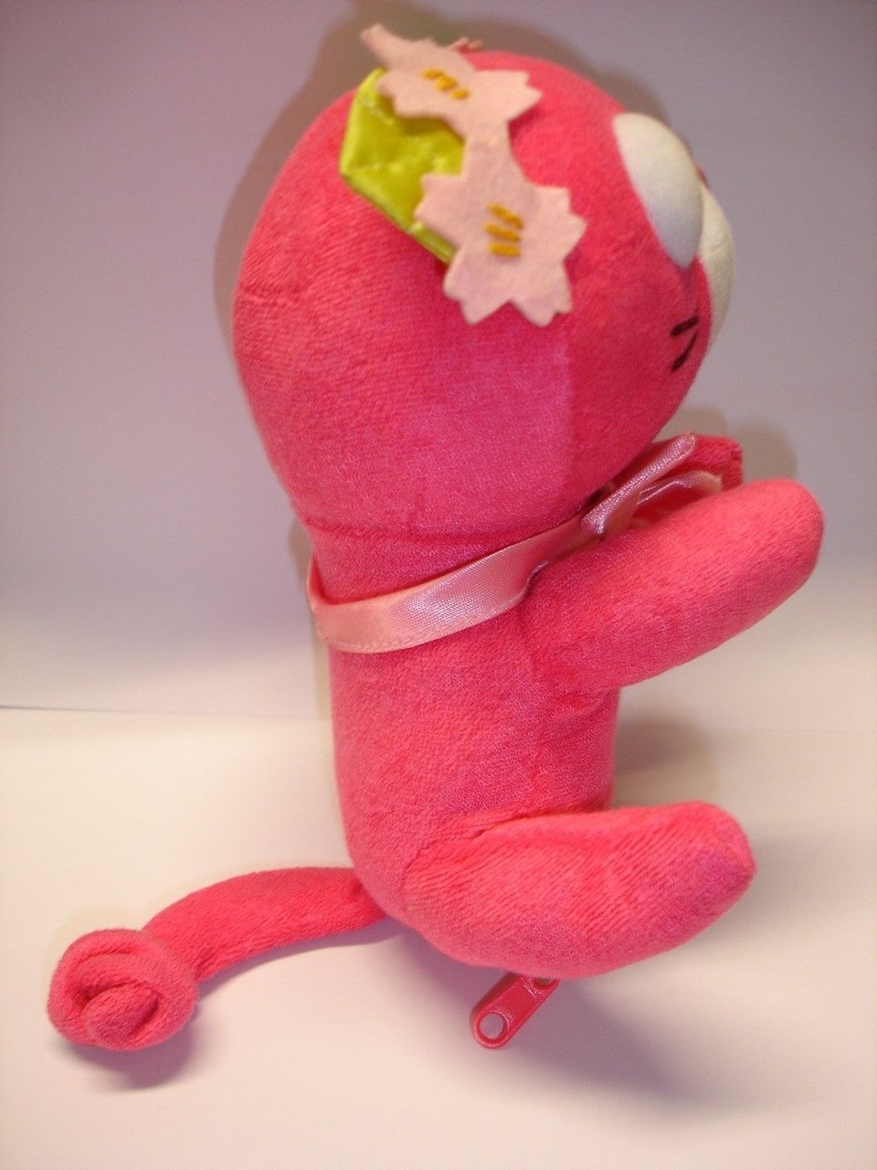 "Sega toys Horipro Ocha-Ken tea puppy Sakura 7.5"" cat plush stuffed doll figure image 2"