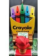Hallmark Crayola Crayon Series 1991 Bright, Vibrant Carols Christmas Orn... - $8.90