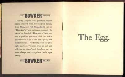 Eggbooklett