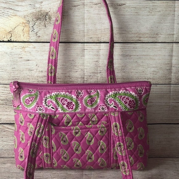 986878025ec0 TWO Vera Bradley Large Quilted Cloth Tote and 50 similar items. M  5afe98aca44dbe8638d1f92f