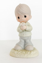 Precious Moments   Mommy I Love You   Boy with Flower  109975 - $13.72