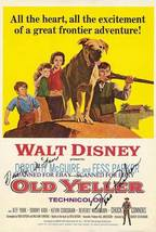 FESS PARKER AND DOROTHY McGUIRE SIGNED 8X10 RP PHOTO OLD YELLER - $14.99