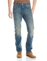 NEW LEVI'S STRAUSS 501 MEN'S ORIGINAL FIT STRAIGHT LEG JEANS BUTTON FLY 501-2148