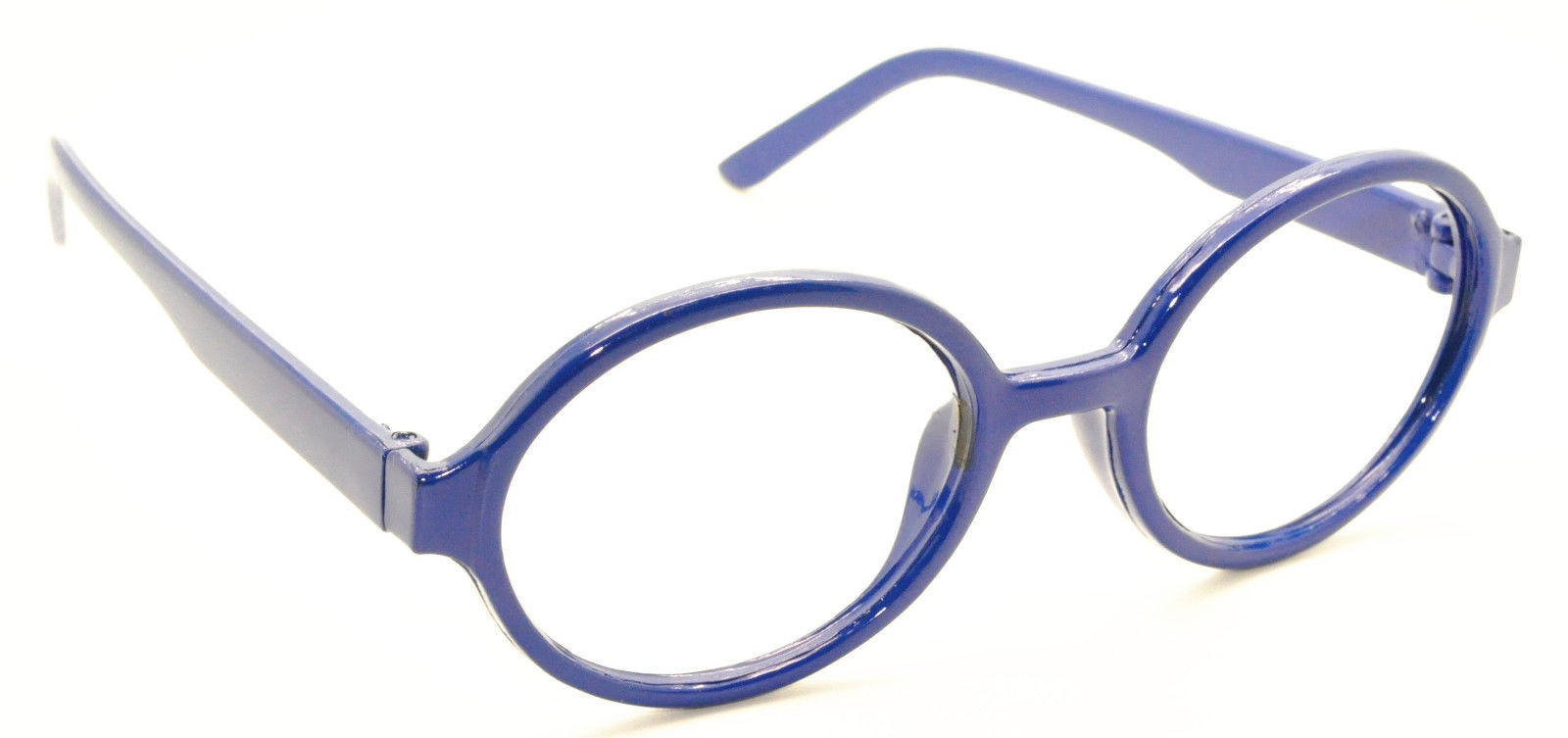 Geek Nerd Style Oval Round Shape Style Glasses Frames NO LENS Wizard Costume