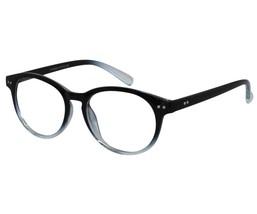 EBE Reading Glasses Mens Womens Round Black Crystal Anti Glare Light Weight - $25.19+