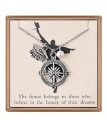 IEFLIFE Graduation Gifts for Her - Graduation Grad Cap Charm Compass Nec... - $17.80