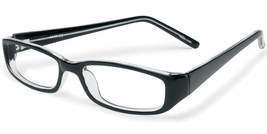 2000 and Beyond 3009 Eyeglasses in Black Crystal - $25.00