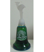 Avon 1981 Glass Moonwind Cologne Annual Bell 4 oz - $8.95