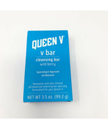 (1) Queen V Bar Cleansing Bar Wild Berry Rosewater & Aloe ph Balanced 3.... - $33.24