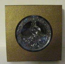 NIB Wallace crystal ornament First Day of Christmas Partridge in a Pear Tree LE image 3