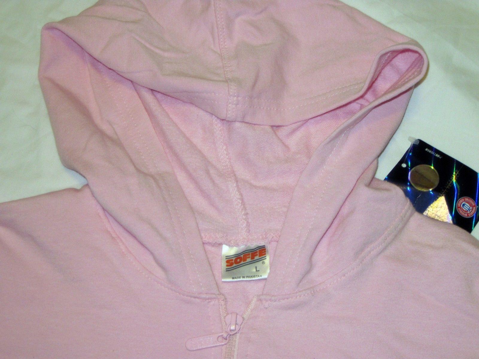 NWT University of Florida UF Gators Hoodie Zipper Jacket Pink Lt Gray by Soffe image 8