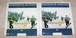 THE LONGEST DAY Capacitance Electronic Disc RCA 2 Discs