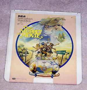 THE MUPPET MOVIE Capacitance Electronic Disc RCA Video