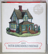 MIB 1997 LIBERTY FALLS PASTOR GEORGE KENDELL'S PARSONAGE AH129 Americana... - $11.30