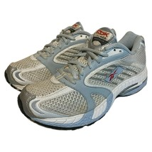 Reebok Womens Premier Road Plus Running Shoes White Blue Silver 181277 Size 8 - $39.59