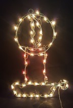 Metal Lighted Christmas Holiday Candle Yard Decoration - €17,59 EUR
