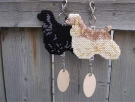 Cocker Spaniel crate tag or hang anywhere, American, bird dog, choose yo... - $25.00