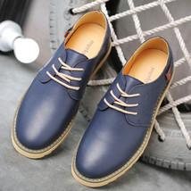 Shoes Merkmak Comfortabl Men Casual Shoes Designer Brand Men for Leather Luxury 0qr06