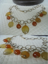 SESTO CONTINENTE GIOIELLI Italy Necklace in silver  925 and gold plated ... - $119.00