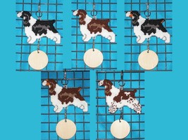 English Springer Spaniel crate tag or hang anywhere, bird dog, choose yo... - $25.00