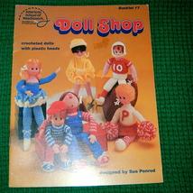 American School of Needlework Doll Shop Crochet Dolls - $6.00