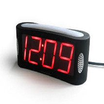 Travelwey LED Digital Alarm Clock - No Frills Simple Operation, Large Ni... - $28.02
