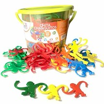 Bucket of Monkeys Game - Hours of Fun for Toddlers and preschoolers. Color - $25.39