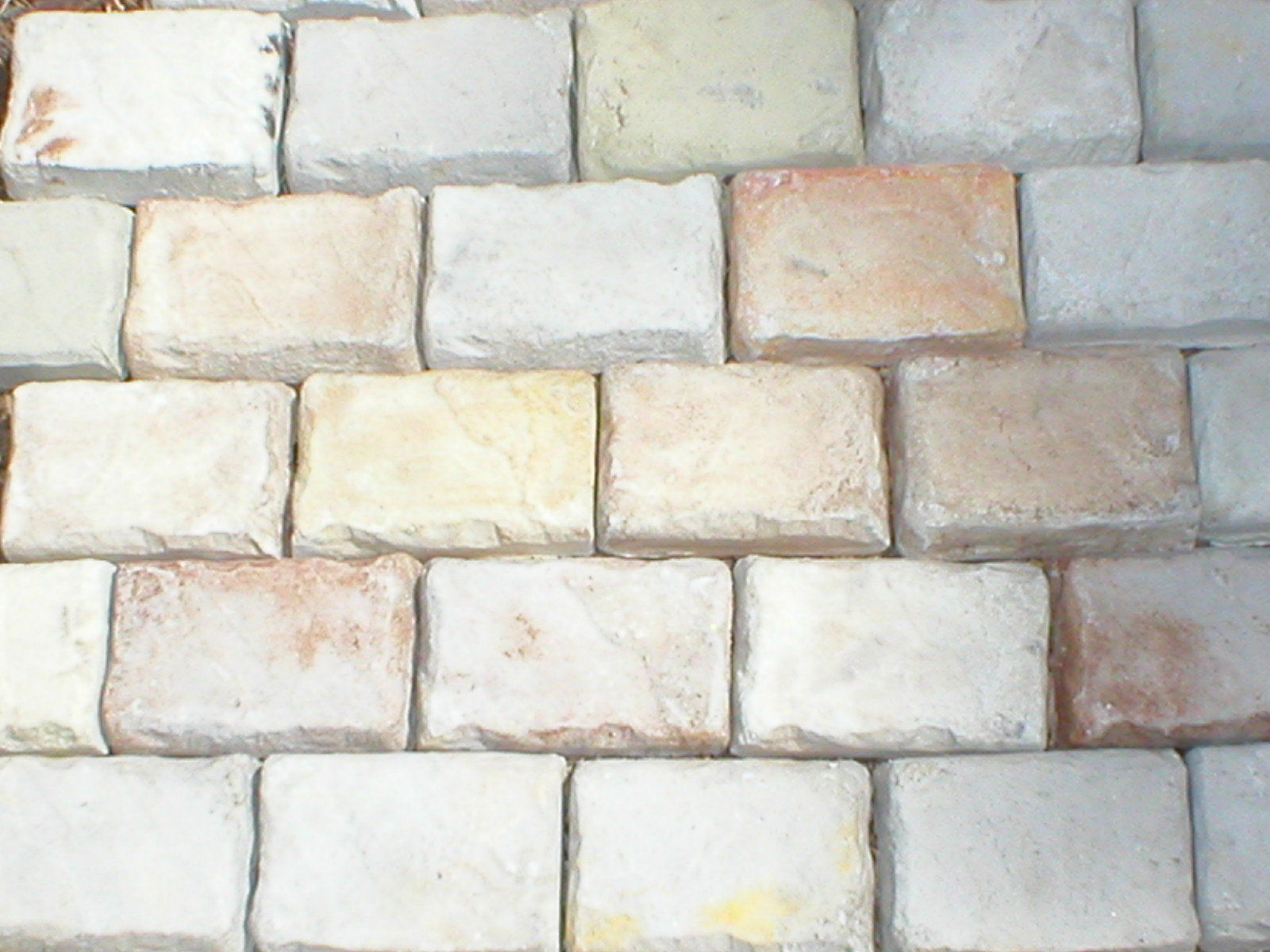 "Cobblestone Paver Molds 12 Make Patio Pavers 4x6"" For Walls Patios Garden Paths"