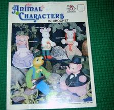 Animal Characters in Crochet Mangelsen & Sons  - $5.00
