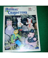 Animal Characters in Crochet Mangelsen & Sons  - $5.00