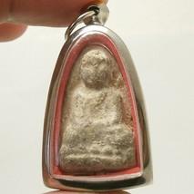 POWERFUL MAGIC 1957 LP TUAD THUAD THAI SUCCESS RICH BUDDHA AMULET LUCKY PENDANT image 1