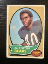 1970 Topps #70 Gale Sayers Chicago Bears Fair - $7.99