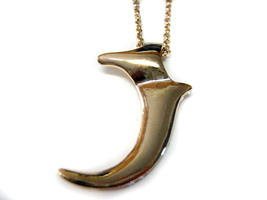Golden Claw Pendant Necklace - $18.99