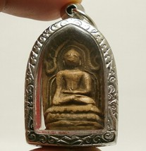 PHRA KONG THAI ANTIQUE FOR MERCHANT INVESTOR MIRACLE BUDDHA AMULET GREAT PENDANT image 1
