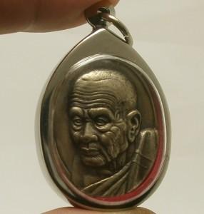LP TUAD THUAD COIN THAI SACRED LEGEND MONK REAL BUDDHA AMULET LUCKY PENDANT RARE image 6