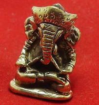 GANESH GANESHA GANAPATI VINAYAKA GOD HINDU THAI MINI AMULET SUCCESS WIN OBSTACLE image 4