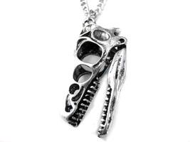 Dinosaur Head Pendant Necklace - $18.99